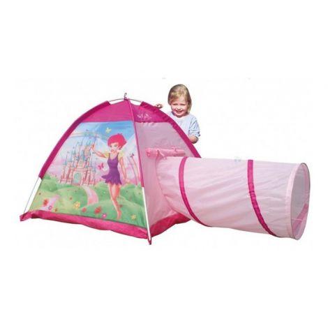 Cort de joaca pentru copii cu tunel Fairy