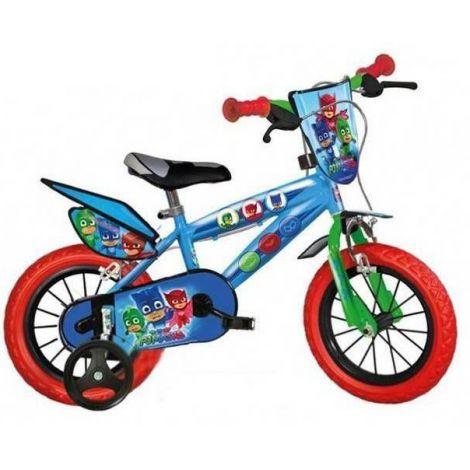Bicicleta pj masks 14 - dino bikes 414u-pj