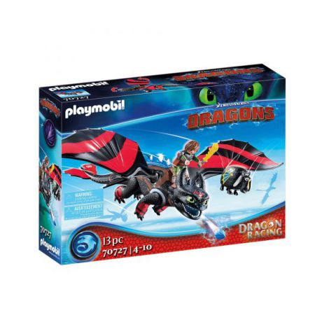 Dragons cursa dragonilor: hiccup si toothless PM70727 Playmobil