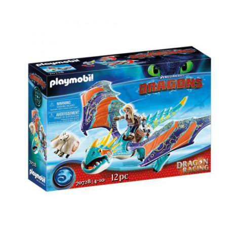 Dragons cursa dragonilor: astrid si stormfly PM70728 Playmobil