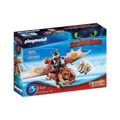 Dragons cursa dragonilor: fishlegs si meatlug PM70729 Playmobil