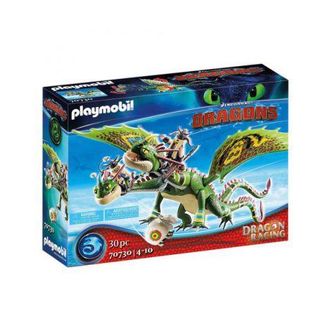 Dragons cursa dragonilor: raffnut si tuffnut cu barf si belch PM70730 Playmobil