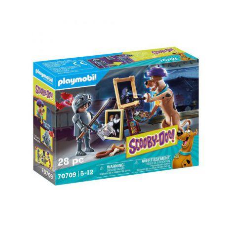Scooby-doo! aventuri cu cavalerul negru PM70709 Playmobil