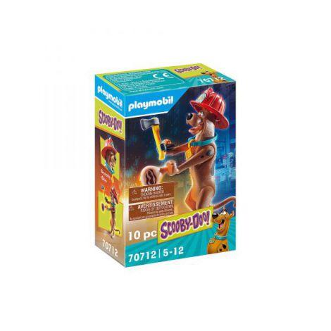 Figurina de colectie - scooby-doo! pompier PM70712 Playmobil