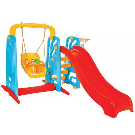 Centru de joaca Pilsan Cute Slide and Swing