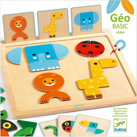 Geo Basic Djeco, joc pentru bebe cu forme geometrice