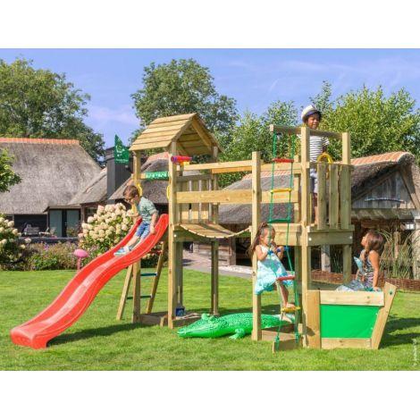 Complex de joaca din lemn Voyager - Jungle Gym