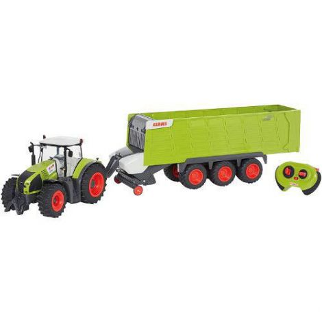 Jucarie Tractor cu Remorca cu Telecomanda RC