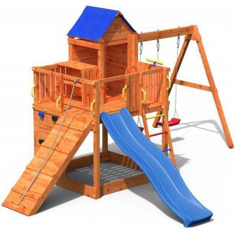 Complex joaca din lemn 7in1 Fungoo Treehouse