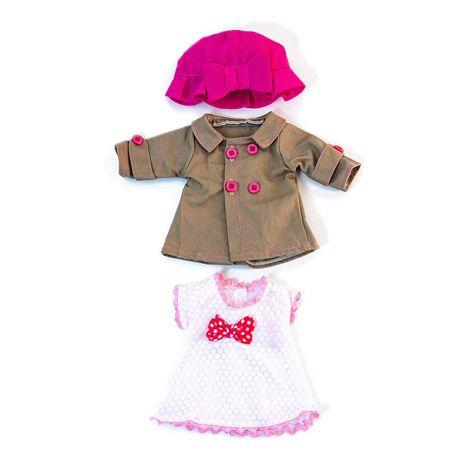 Set imbracaminte vreme temperata pentru papusa fetita 32 cm
