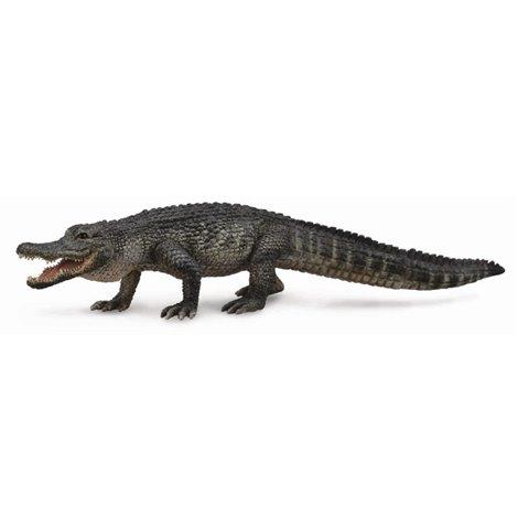 Figurina pictata manual Aligator American