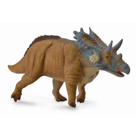Figurina pictata manual dinozaur Mercuriceratops