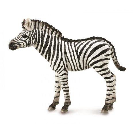 Figurina pictata manual Pui de zebra
