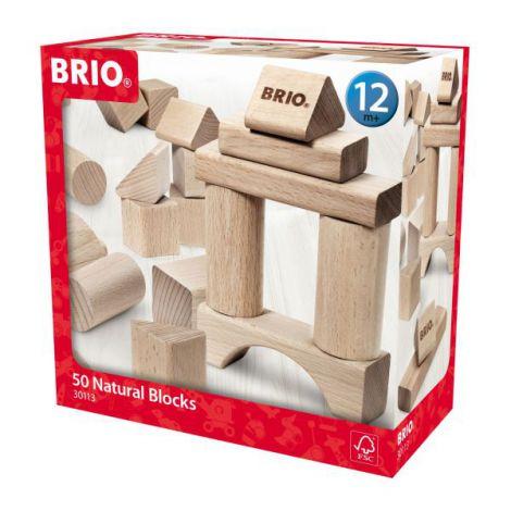 Set blocuri din lemn 50 piese 30113 Brio