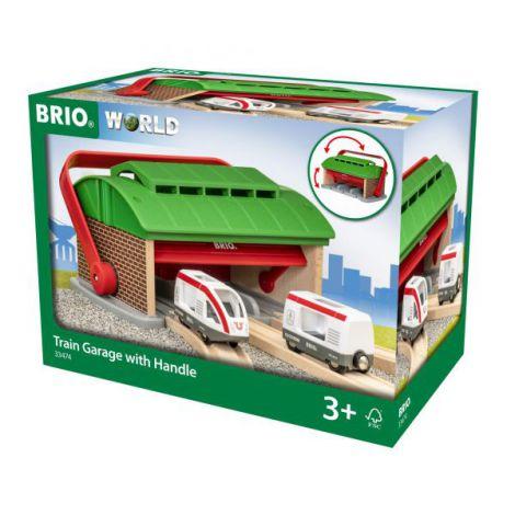 Set portabil garaj de trenuri 33474