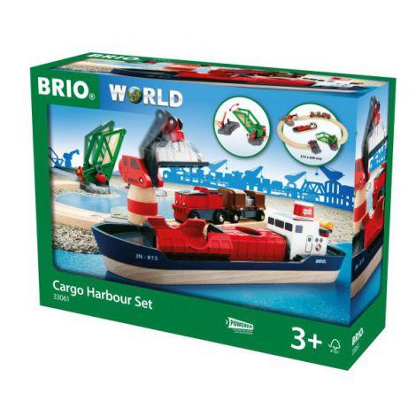 Set port cu nava de marfa 33061 Brio