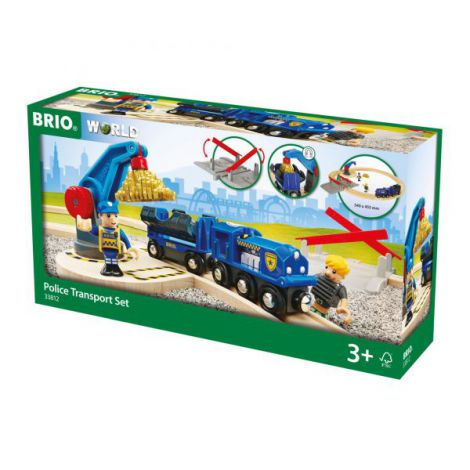 Set transport politie 33812 Brio