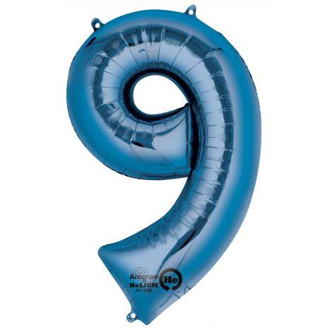 Balon super shape blue 9
