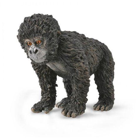 Figurina pictata manual Gorila de Munte pui