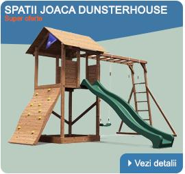 Spatii de joaca din lemn
