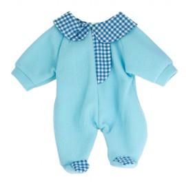Pijama Salopeta Bleu Pentru Papusi 38-42 Cm