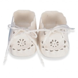 Pantofi perforati pentru papusi 38-42 cm