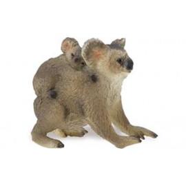 Koala Cu Pui - Figurina