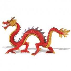 Dragonul chinezesc cu coarne - Figurina
