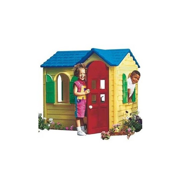 Little Tikes - Casuta Evergreen (galben)