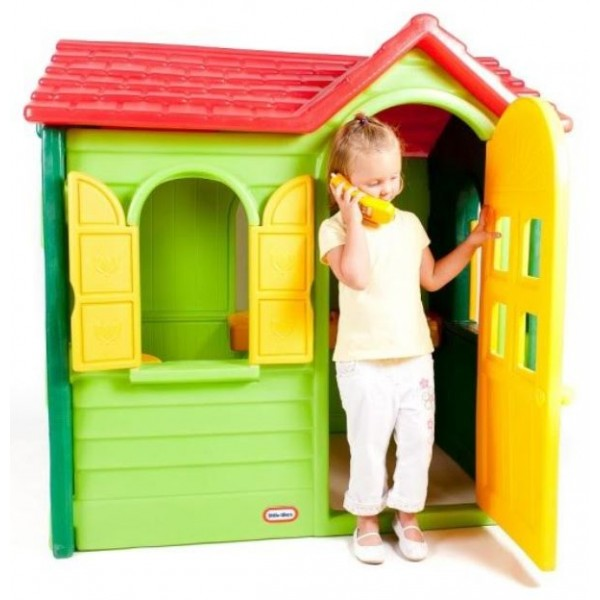 Little Tikes - Casuta Evergreen (verde)