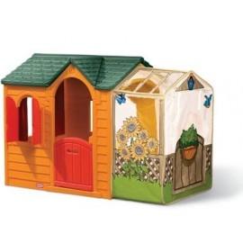 Little Tikes - Casuta cu veranda (galbena)