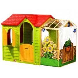 Little Tikes - Casuta cu veranda (verde)