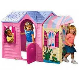 Little Tikes - Casuta cu veranda (roz)