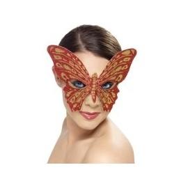 Accesoriu carnaval - Masca Fluture Glitter 11