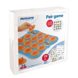 Joc de memorie 24 activitati, cu 4 table de joc - Miniland