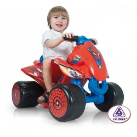 ATV copii Wings Spiderman Sense 6V (INJ7246)