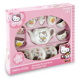 Set ceai porcelan Hello Kitty - Smoby
