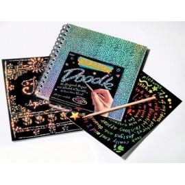 Bloc desen prin razuire - Doodle pad