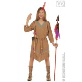Costum Carnaval Copii - Indianca Cu Pana