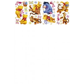 Sticker perete Winnie the Pooh - 100 Acre Wood