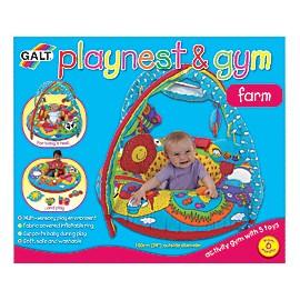Playnest & Gym - Farm - Cuib de joaca & gimnastica Ferma + cadou