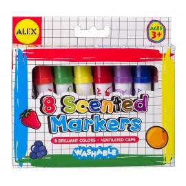 Markere lavabile parfumate Alex Toys