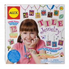 Creaza bijuterii din placute de lemn, Alex Toys