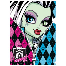 Mapa din plastic Monster High Zipper - BTS