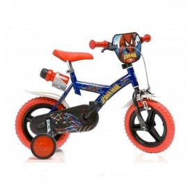 Bicicleta Spiderman mica - 12