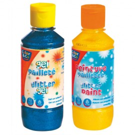 Tempera cu sclipici gel 250 ml