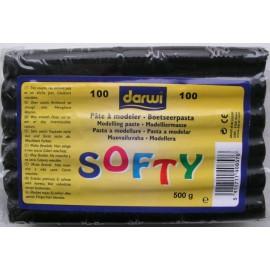 Pasta de modelaj neagra Darwi - 500g