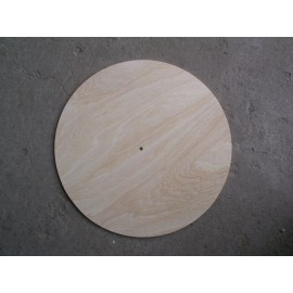 Cadran ceas lemn rotund
