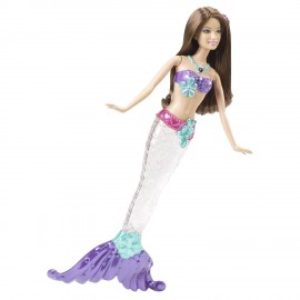 Barbie Sirene Sclipitoare - Sirena Satena