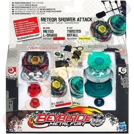 Beyblade Metal Fury - Titirez Meteor Shower Attack